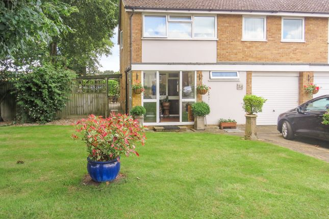 Thumbnail Semi-detached house for sale in Leaders Way, Newmarket