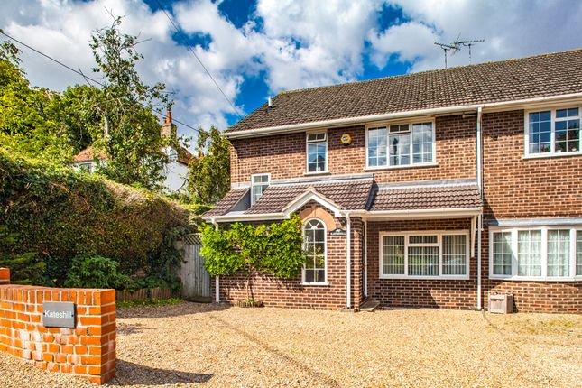 Thumbnail Semi-detached house for sale in Kateshill, East Ilsley