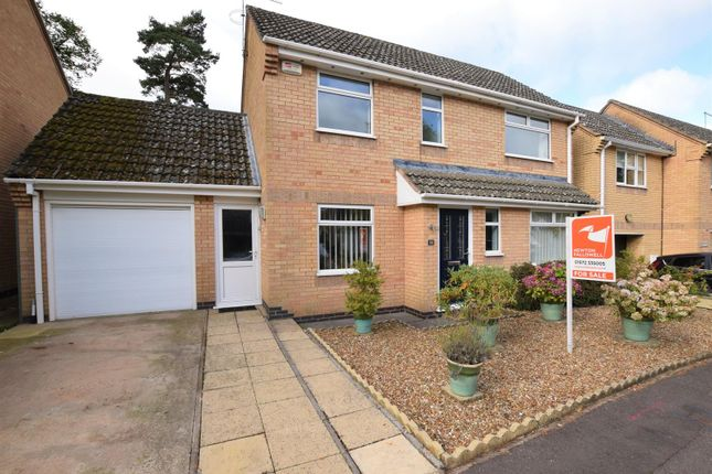 Thumbnail Detached house for sale in The Pastures, Cottesmore, Oakham