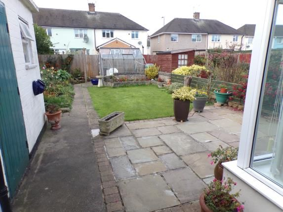 Garden of Wrenthorpe Vale, Clifton, Nottingham NG11