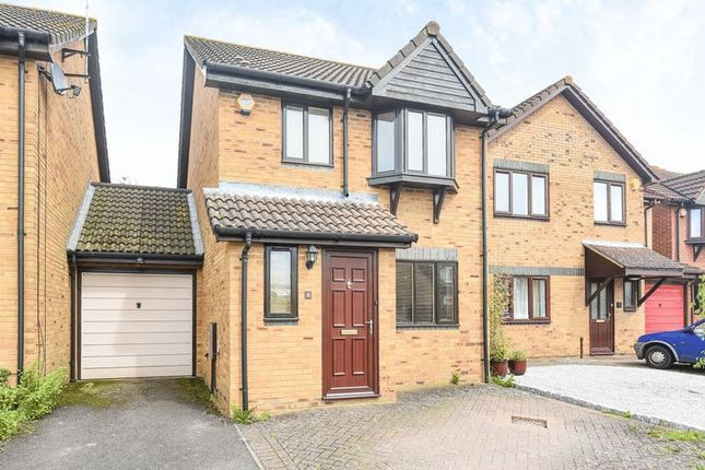 Thumbnail Link-detached house to rent in Falcon Mead, Bicester
