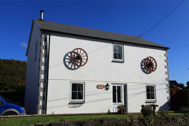 Thumbnail Detached house for sale in North Road, Whitemoor, St Austell, Cornwall