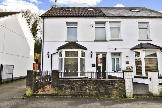 Thumbnail Semi-detached house for sale in New Market Walk, St. Tydfil Square Shopping Centre, Merthyr Tydfil