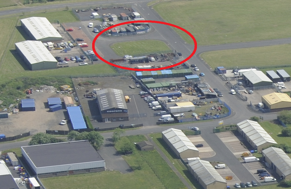 Thumbnail Industrial for sale in Amble Industrial Estate, Amble