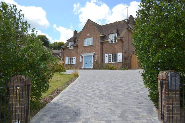 Thumbnail Detached house for sale in Upper Ratton Drive, Ratton, Eastbourne