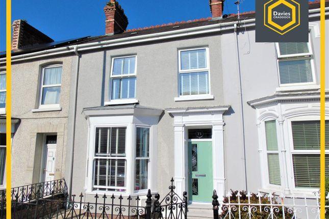 Thumbnail Terraced house for sale in Glenalla Road, Llanelli