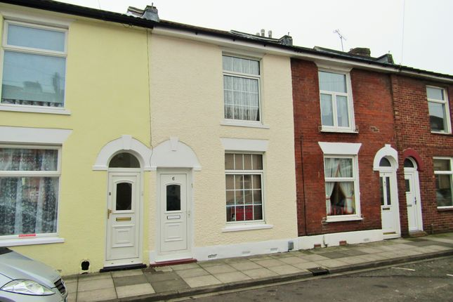 Thumbnail Terraced house to rent in Malta Road, Portsmouth