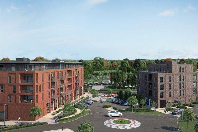 "Thumbnail Flat for sale in ""Wharf View"" at Silbury Boulevard, Milton Keynes"