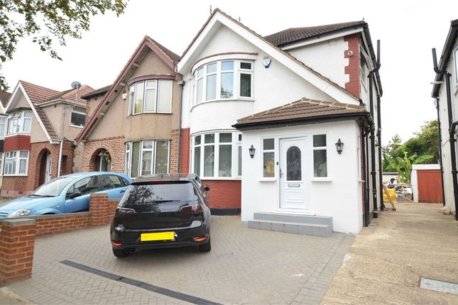Thumbnail Semi-detached house for sale in Somervell Road, Harrow, Greater London