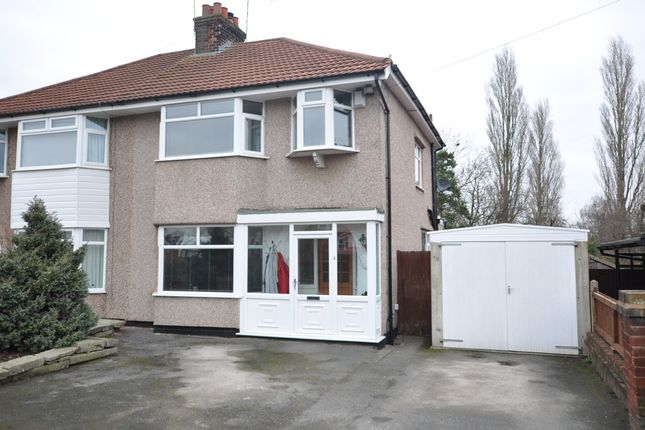 3 bed semi-detached house for sale in Greenbank Drive, Heswall, Wirral