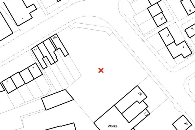 Map 1 of Dudley Street, Luton LU2