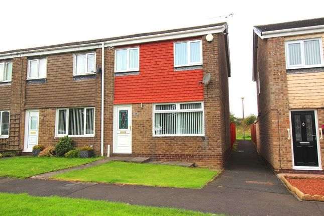 Thumbnail Terraced house to rent in Newlyn Drive, Parkside Dale, Cramlington