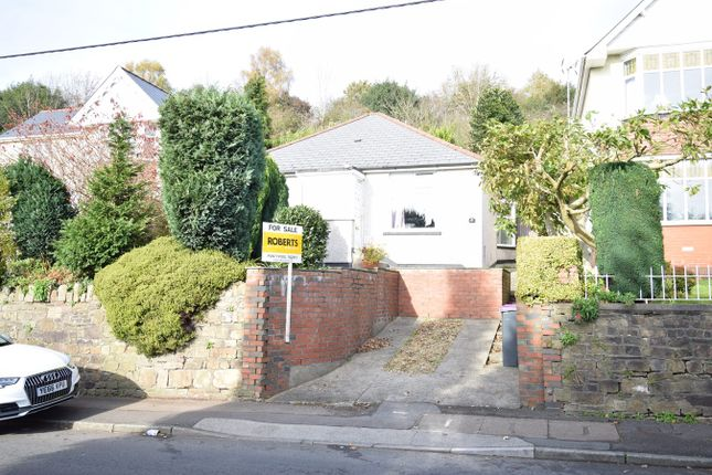 Thumbnail Detached bungalow for sale in Usk Road, Pontypool