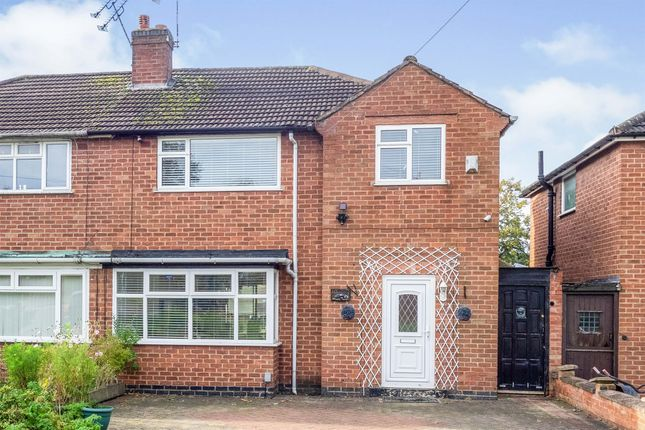Thumbnail Semi-detached house for sale in Dale Close, Warwick