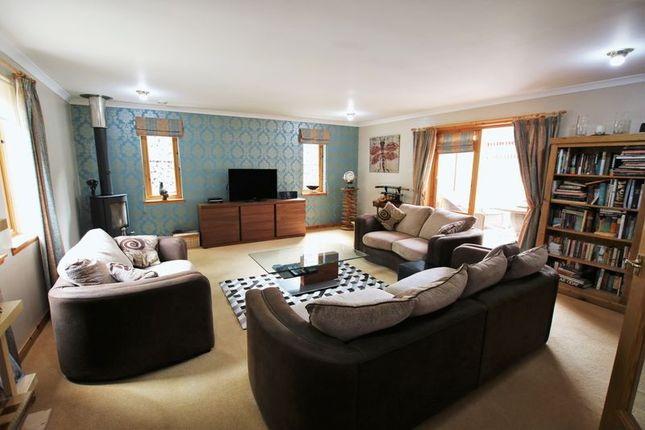Thumbnail Detached bungalow for sale in Idvies, Forfar