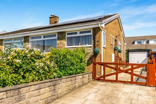 Thumbnail Semi-detached bungalow for sale in Heathmoor Close, Illingworth, Halifax
