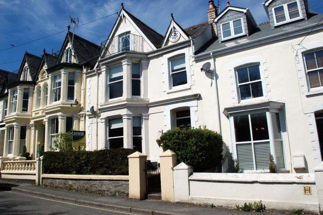 Thumbnail Terraced house to rent in Trevanion Road, Wadebridge