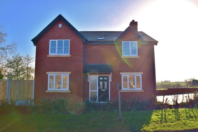 Thumbnail Detached house for sale in Stafford Road, Uttoxeter