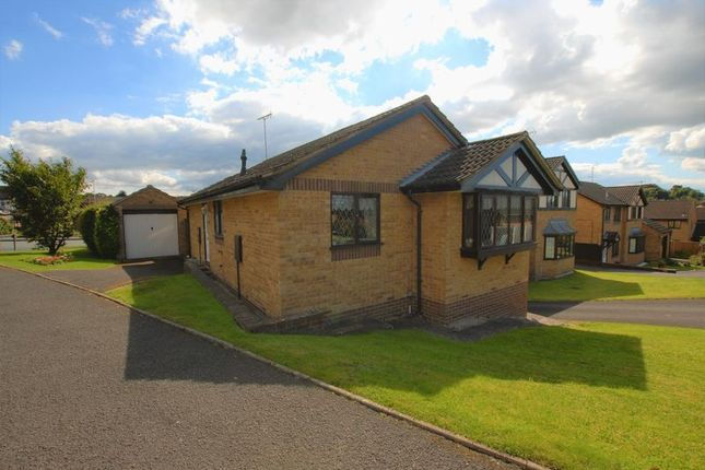 Thumbnail Detached bungalow for sale in Sandpiper Drive, Uttoxeter