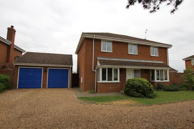Thumbnail Detached house for sale in Lodge Gardens, Haddenham, Ely