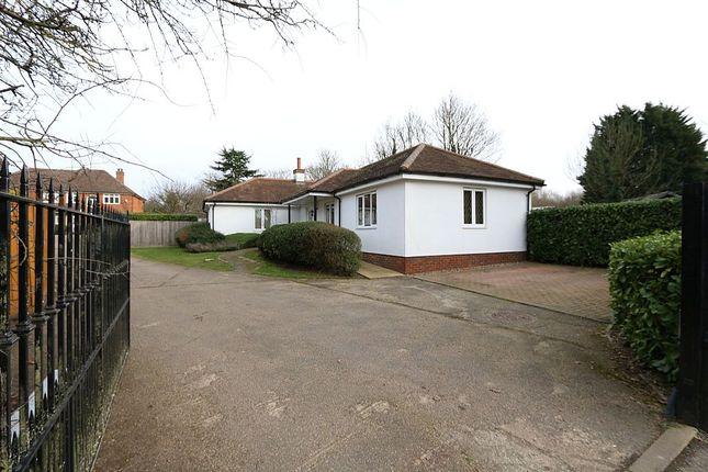 Thumbnail Detached bungalow for sale in Redhall End, Roestock Lane, Colney Heath, St. Albans, Hertfordshire