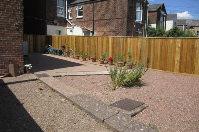 Rear Garden of Powderham Crescent, Exeter EX4