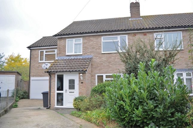 Thumbnail Semi-detached house for sale in Arbutus Close, Moulsham Lodge, Chelmsford, Essex