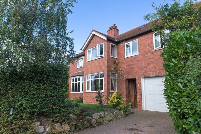 Thumbnail Detached house for sale in Moors Lane, Darnhall, Winsford
