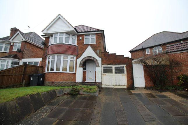 Thumbnail Link-detached house for sale in Ridgacre Lane, Quinton, Birmingham, West Midlands