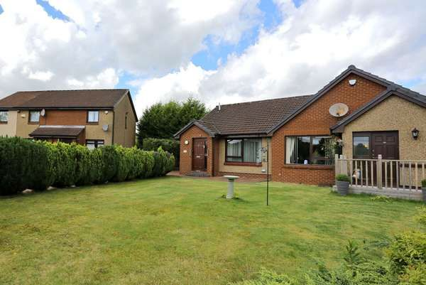 Thumbnail Semi-detached bungalow for sale in 50 Baldorran Crescent, Cumbernauld, Glasgow