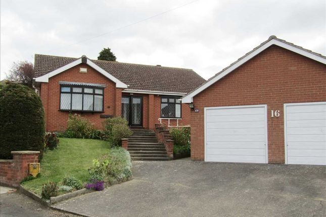 Thumbnail Detached bungalow for sale in Hillfoot Drive, Bottesford, Scunthorpe