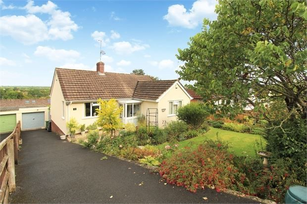 Thumbnail Detached bungalow for sale in High Street, Banwell, North Somerset.