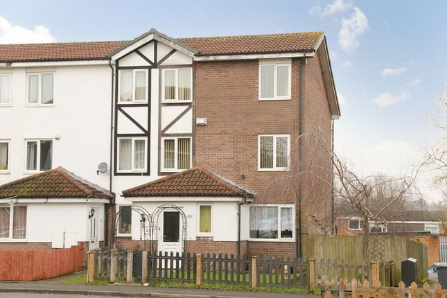 Thumbnail Terraced house for sale in Shawfield Close, Sutton Hill, Telford