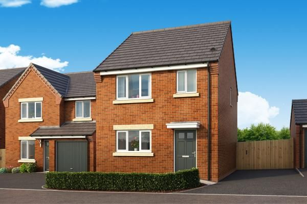 "Thumbnail Property for sale in ""The Allerton At Lyndon Park"" at Harwood Lane, Great Harwood, Blackburn"