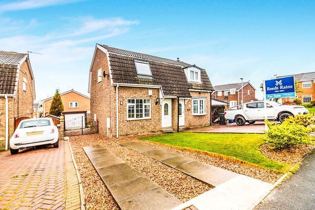 Thumbnail Semi-detached house for sale in Fleet Close, Brampton Bierlow, Rotherham