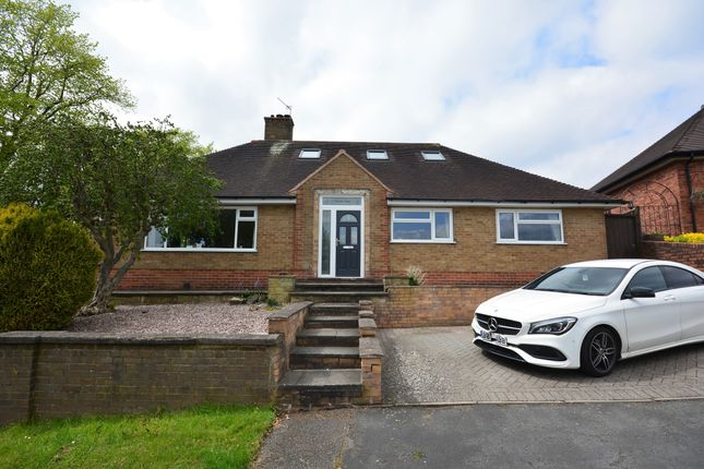 3 bed detached bungalow for sale in Monks Close, Westlands, Newcastle ST5