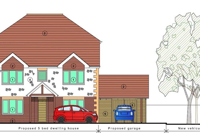 Proposed Front of Long Copse Lane, Emsworth, Hampshire PO10