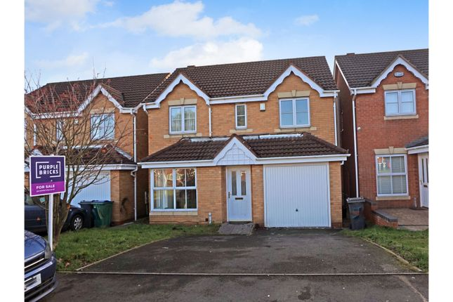 Thumbnail Detached house for sale in Brades Rise, Oldbury