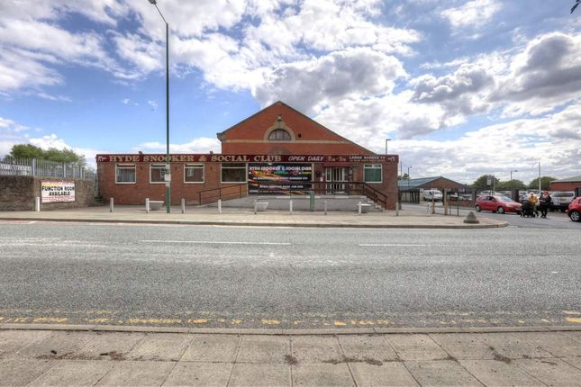 Thumbnail Commercial property for sale in Manchester Road, Hyde