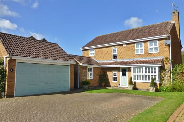 Thumbnail Detached house for sale in Kestrel Road, Oakham