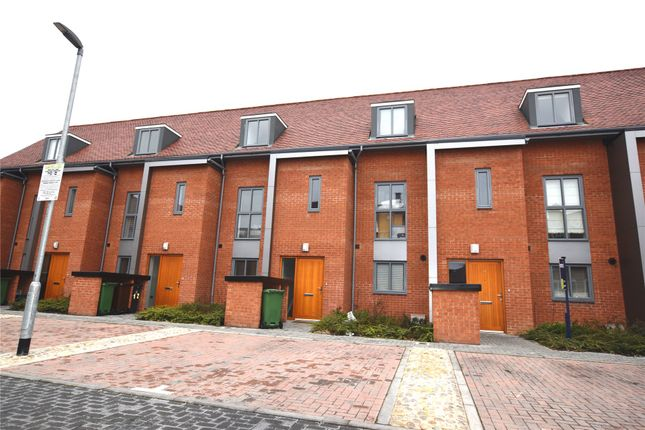 Thumbnail Town house for sale in Chancellor Drive, Frimley, Camberley, Surrey