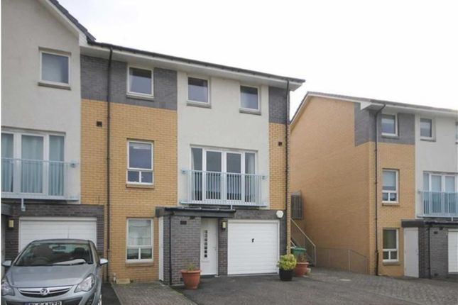Thumbnail Town house for sale in Craiglinn Gardens, Glasgow, Glasgow