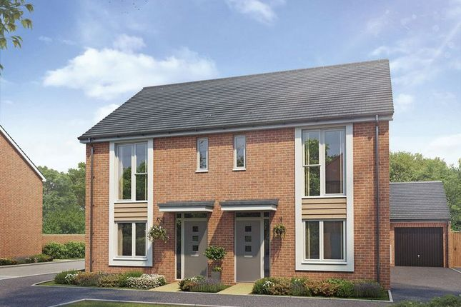 Thumbnail Semi-detached house for sale in The Houghton. Plot 61. Campden Road, Meon Vale, CV 37
