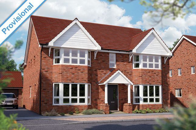 "Thumbnail Detached house for sale in ""The Ascot"" at Limousin Avenue, Whitehouse, Milton Keynes"