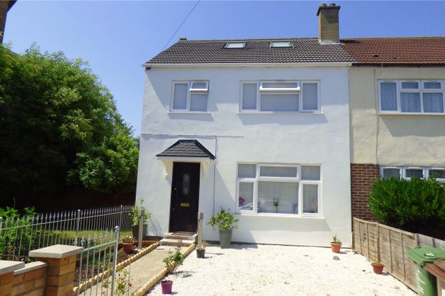 Thumbnail End terrace house to rent in Bradfield Drive, Barking, Essex