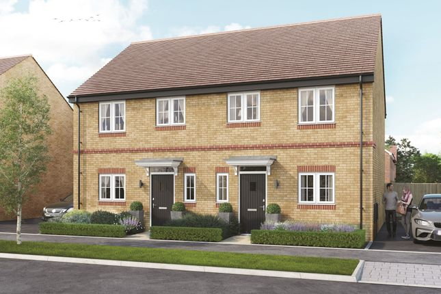 """Thumbnail Semi-detached house for sale in """"Guydon"""" at Hayley Road, Lancing"""