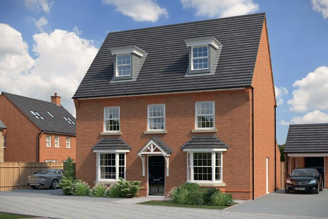 "Thumbnail Detached house for sale in ""Emerson"" at Bush Heath Lane, Harbury, Leamington Spa"