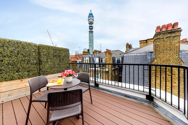 Thumbnail Flat to rent in 102 Great Titchfield Street, London