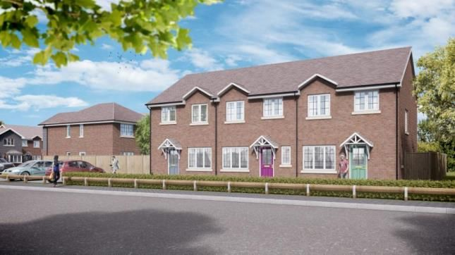 Thumbnail End terrace house for sale in Redditch