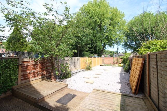 Rear Garden of Isis Close, Salford M7